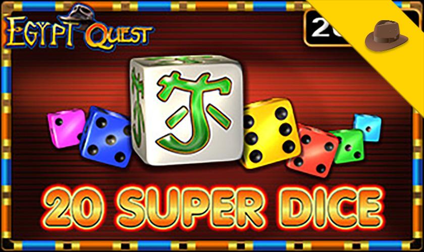 EGT - 20 Super Dice Egypt Quest